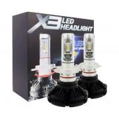 Комплект автомобільних LED ламп X3 H7