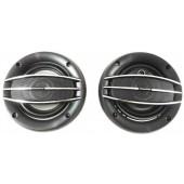 Колонки автомобильные круглые Pioneer TS-1074, авто акустика