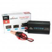 Автомобильный инвертор преобразователь напряжения UKC 12V 1200W AC/DC SSK