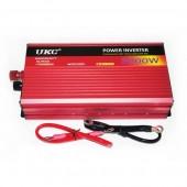 Автомобільний інвертор перетворювач UKC 12V-220V AC/DC AR 3000W