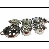 Набір посуду 12 предметів HOFFMAYER HF-436