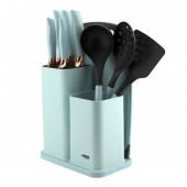 Набір кухонних ножів 10 предметів Benson BN-412