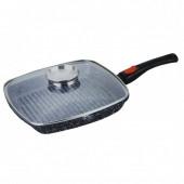 Сковорода-гриль с крышкой и съемной ручкой Benson BN-310