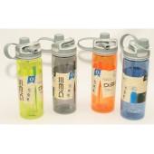 Пляшка 600мл T144-27 пластик з поїлою і трубочкою