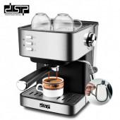 Кофемашина напівавтоматична DSP Espresso Coffee Maker KA3028 з капучинатором