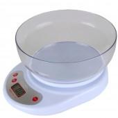 Ваги кухонні Domotec ACS-126 до 7кг з чашею