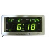 Часы Caixing CX-2158 с зеленой подсветкой