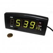 Часы Caixing CX-818 с зеленой подсветкой