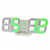 Электронные настольные LED часы с будильником и термометром VST LY 1089
