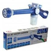 Распылитель воды на шланг Ez Jet Water Cannon 8 вариантов струи, водомёт, насадка на шланг