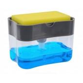 Дозатор для моющего средства SOAP PUMP SPONGE CADDY