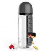 Бутылка для воды с органайзером для таблеток Pill&Vitamin EL-567
