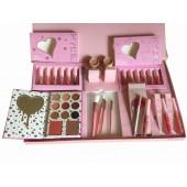 Набір косметики Kylie Jenner Big Box рожевий, великий подарунковий набір для макіяжу