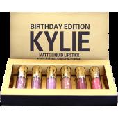 Набор матовых помад Kylie Jenner Birthday 6 штук