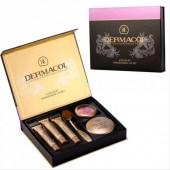 Набор Dermacol 6 в 1 Make-up set тональный крем пудра румяна