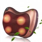 Інфрачервоний роликовий масажер для шиї і спини MASSAGE PILLOW QY-8028