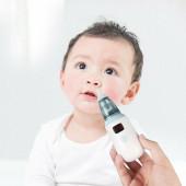 Дитячий аспіратор акумуляторний з Led дисплеєм і регулятором потужності BABY NOSE