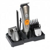 Машинка триммер акумуляторна для стрижки волосся Kemei KM580a 7 в 1
