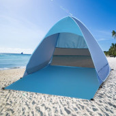 Пляжний намет саморозкладний  з захистом від ультрафіолету + Чохол 165 * 150 * 110 см