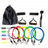 Набір еспандерів для фітнесу 5 джгутів JT-003 Resistance Bands