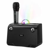 Беспроводная Bluetooth колонка + микрофон HOCO BS41 Warm Sound караоке