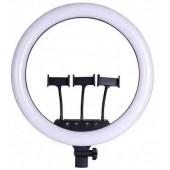 Кільцева LED лампа 45см з пультом дистанційного керування 3 тримачі RING FILL LIGHT SLP-G500