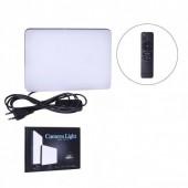 Прямокутна LED лампа 23х16см з пультом професійне світло для фото и відео зйомки Light MM-240 Ra95 +