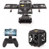 Квадрокоптер дрон Black Knight Cube 414 c WiFi камерою