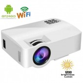 Портативний проектор LED Projector A8 Android WiFi