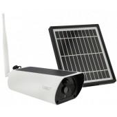 Вулична IP камера відеоспостереження UKC Y9 2 mp з сонячною панеллю