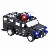 Сейф скарбничка з кодом і відбитком пальця у вигляді поліцейської машини G62