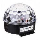 Диско шар Magic Ball Music MP3 плеєр SD-5150 світломузика