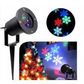 Лазерний проектор Star Shower color Snowflake