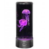 Лампа нічник зі світлодіодними медузами LED Jellyfish Mood Lamp