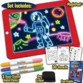 Планшет для малювання світлодіодний Magic Pad Sketchpad