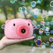 Дитячий фотоапарат генератор для мильних бульбашок Bubble Camera