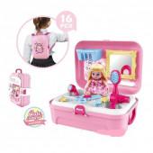 Ігровий набір рюкзак для дівчинки Cosmetics toy 8239